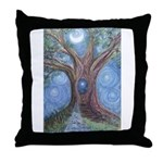 Magical Womb Tree Throw Pillow