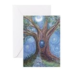 Magical Womb Tree Greeting Cards (Pk of 10)