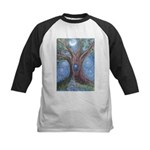Magical Womb Tree Kids Baseball Jersey