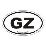 Galicia spain gz euro oval Single