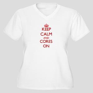 Cores Plus Size T-Shirt