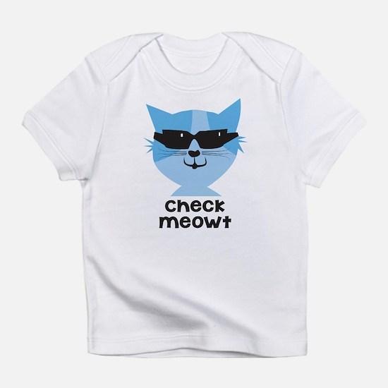 Check Meowt Infant T-Shirt
