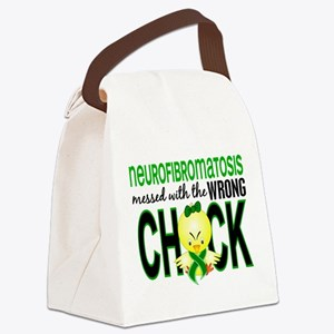Neurofibromatosis MessedWithWrong Canvas Lunch Bag