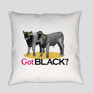 Got Black? Everyday Pillow