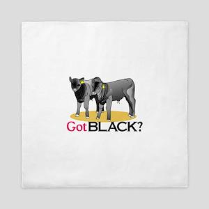 Got Black? Queen Duvet