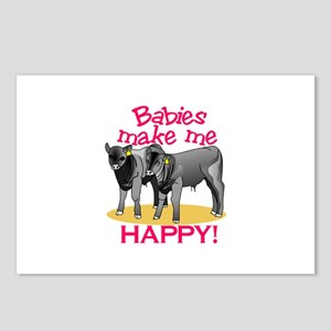 Make Me Happy! Postcards (Package of 8)