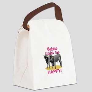 Make Me Happy! Canvas Lunch Bag