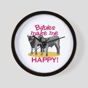 Make Me Happy! Wall Clock