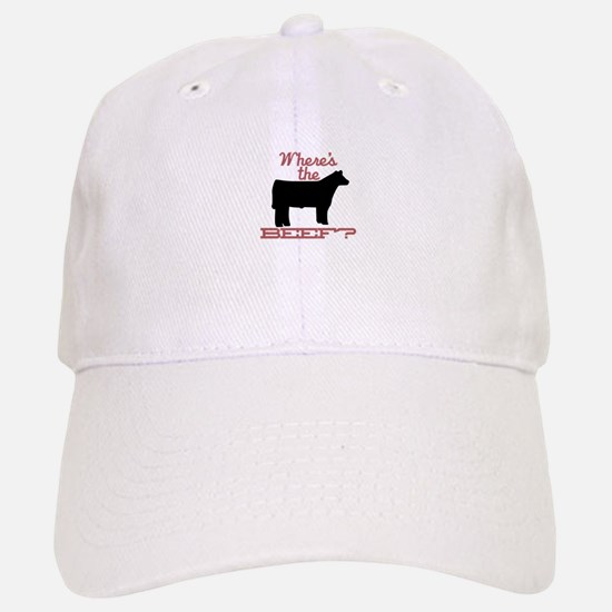 Where's The Beef? Baseball Baseball Baseball Cap
