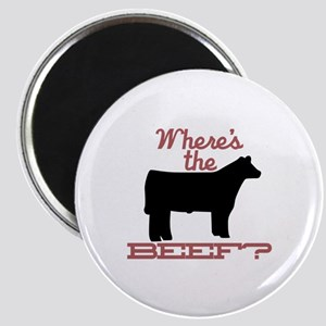 Where's The Beef? Magnets