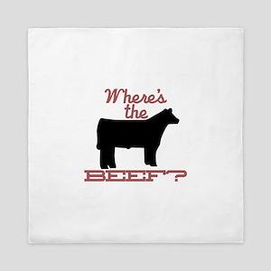 Where's The Beef? Queen Duvet