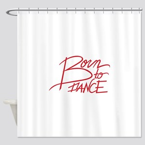 Born To Dance Shower Curtain