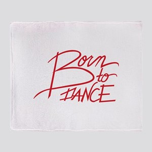 Born To Dance Throw Blanket