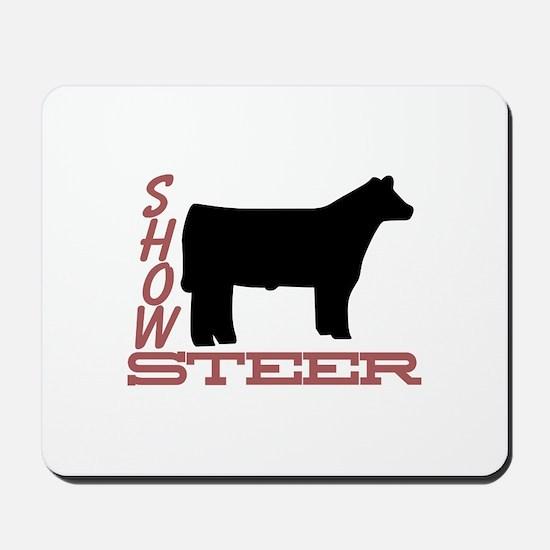 Show Steer Mousepad