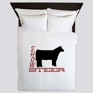 Show Steer Queen Duvet