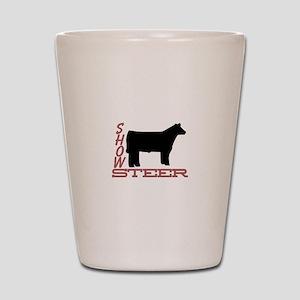 Show Steer Shot Glass