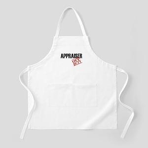 Off Duty Appraiser BBQ Apron