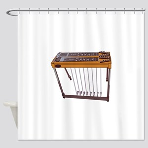Steel Guitar Shower Curtain