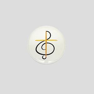Church Musician Mini Button