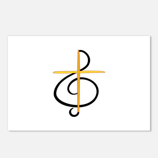 Church Musician Postcards (Package of 8)