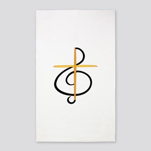 Church Musician Area Rug