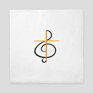 Church Musician Queen Duvet