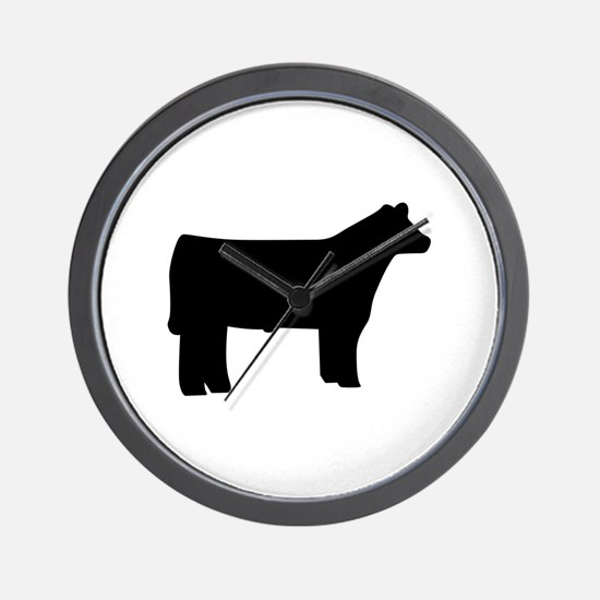 Steer Wall Clock