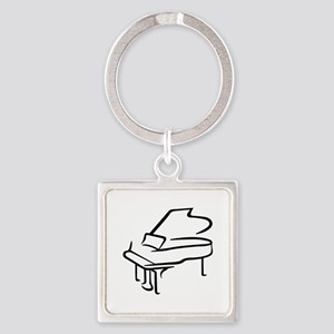 Grand Piano Keychains
