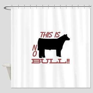 No Bull Shower Curtain
