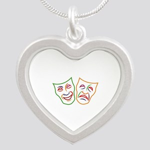 Comedy Tragedy Masks Necklaces