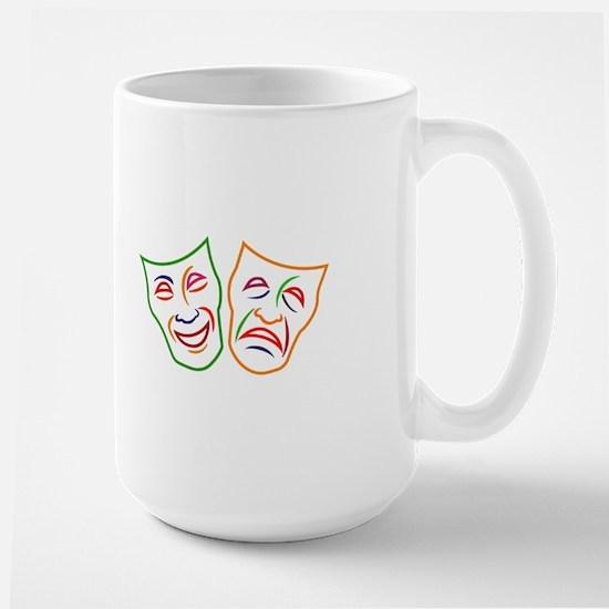 Comedy Tragedy Masks Mugs