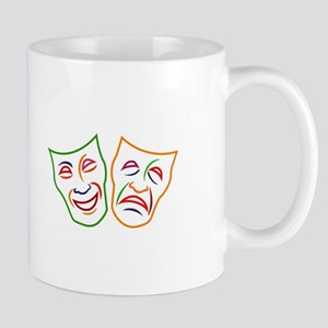 Comedy Tragedy Masks Mugs