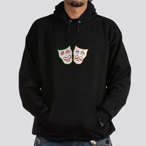 Comedy Tragedy Masks Hoodie