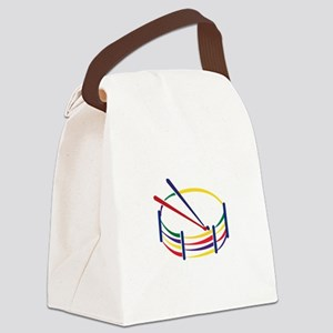 Snare Drum Canvas Lunch Bag