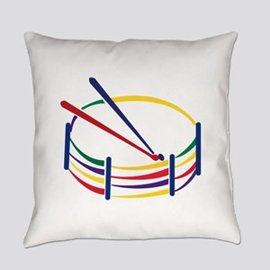 Snare Drum Everyday Pillow