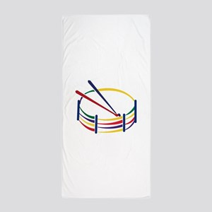 Snare Drum Beach Towel
