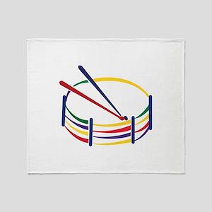 Snare Drum Throw Blanket