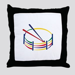 Snare Drum Throw Pillow