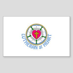 Lutheran At Heart Sticker