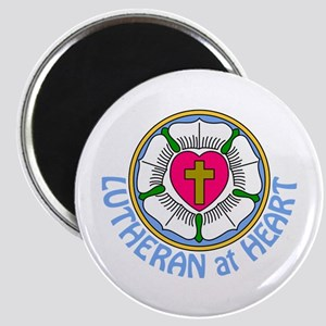 Lutheran At Heart Magnets