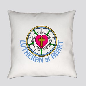 Lutheran At Heart Everyday Pillow