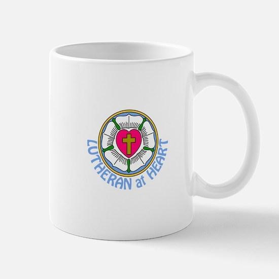 Lutheran At Heart Mugs