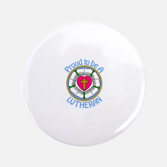Proud Lutheran Button