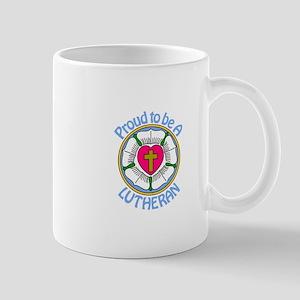 Proud Lutheran Mugs