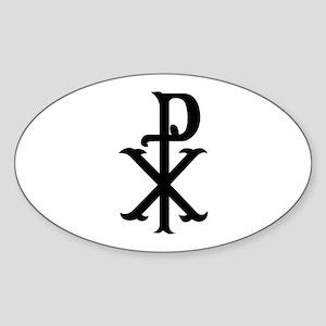 Christ Symbol PX Sticker