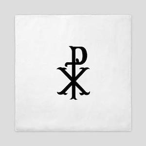 Christ Symbol PX Queen Duvet