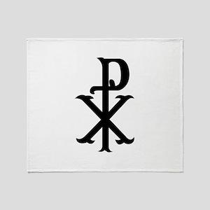 Christ Symbol PX Throw Blanket