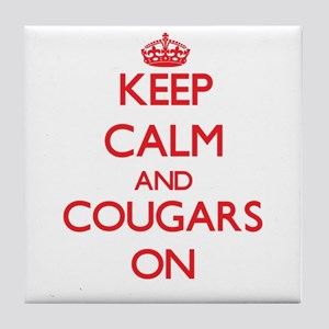 Cougars Tile Coaster