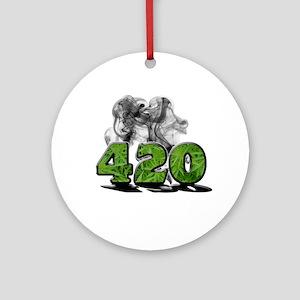 420 HAZE Ornament (Round)