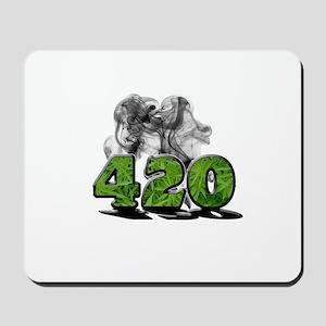 420 HAZE Mousepad